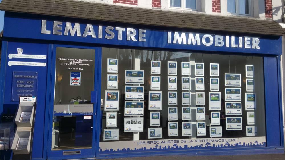 Agence immobilière Lemaistre Immobilier Criquetot L'Esvenal