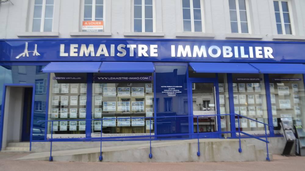 Agence immobilière Lemaistre Immobilier Goderville